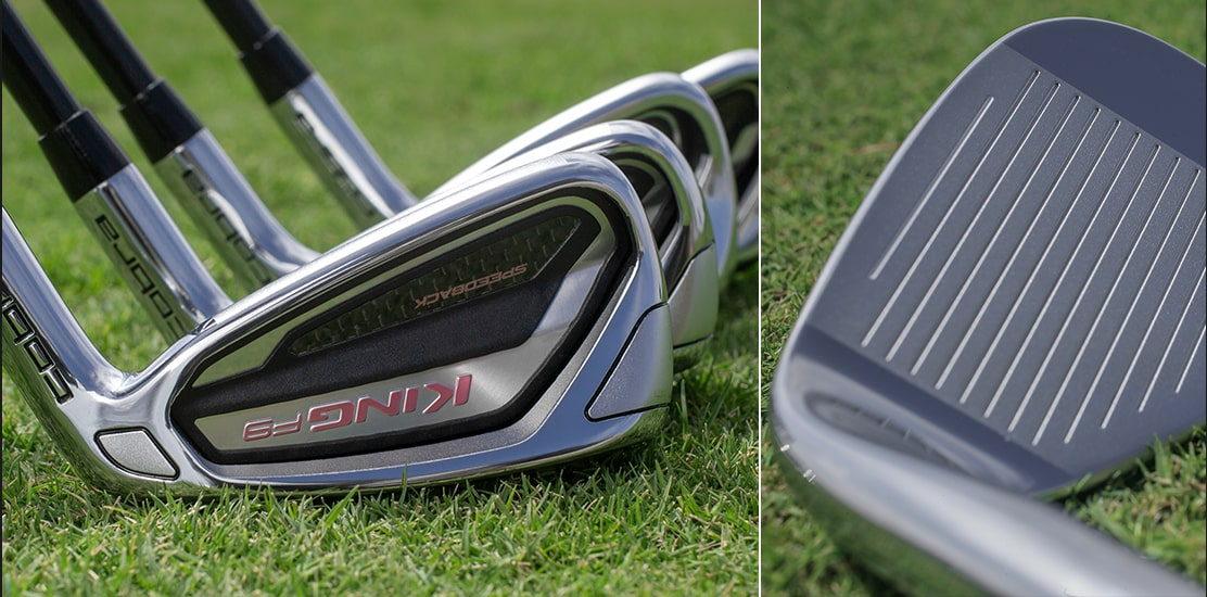 King F9 Irons Grass Laydown