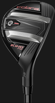 KING F9 Speedback iron and fairway