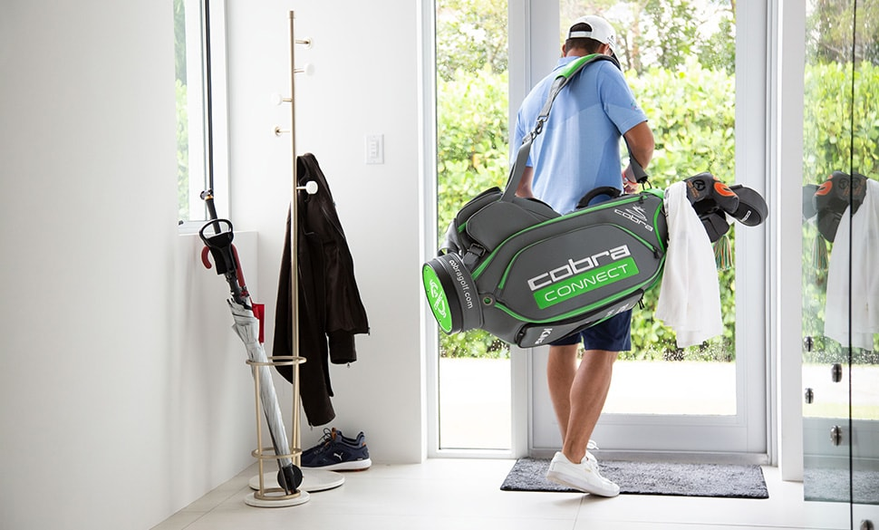 Rickie Heads Out To Golf